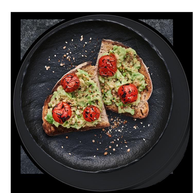 Avocado smash on toast